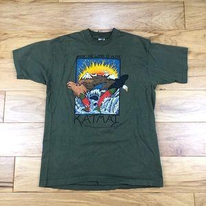 Vintage Katmai Alaska Single Stitch USA Made Shirt